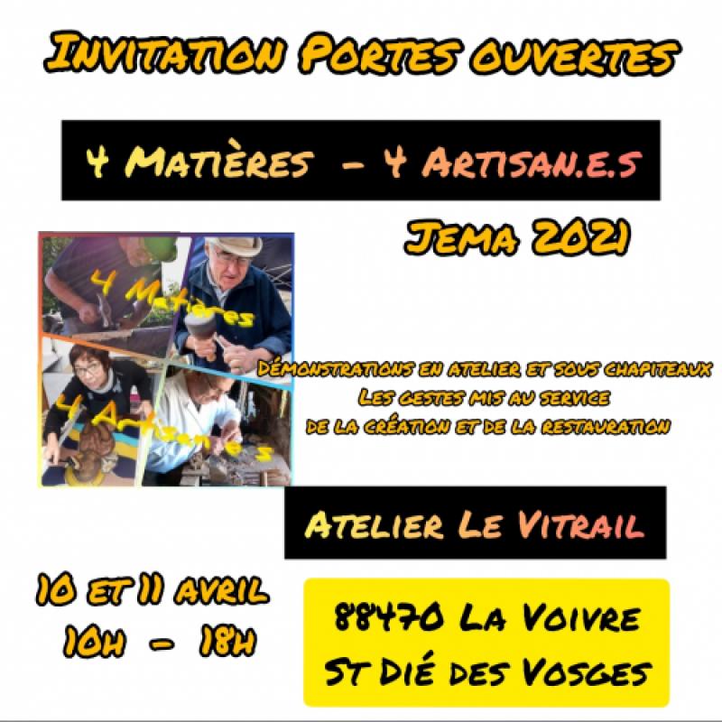 4 Matières  -  4 Artisan.e.s